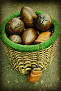 Boxing Digital Art - Basket Balls    by Lorraine Caballero Simpson          c more vision