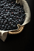 Edward Fielding - Basket full fresh picked blueberries
