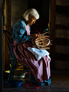 Andrea Silies Framed Prints - Basket Weaver Framed Print by Andrea Silies