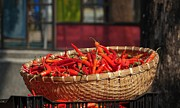 Yali Shi - Basket with Red Chili...