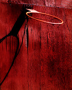Basket Ball Posters - Basketball Hoop Poster by Lane Erickson