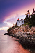 Laval Prints - Bass Harbor Lighthouse Print by Mircea Costina Photography