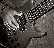 Bass Bridge Prints - Bass Man  Print by Chris Berry
