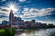 Nashville Skyline Photos - Bat Signal by Dan Holland