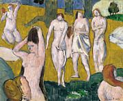Famous Artists - Bathers by Emile Bernard