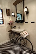 Bicycle - Bathroom Design 01 by Benjamin Bullins