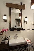 Benjamin Bullins Art - Bathroom Mirror 01 by Benjamin Bullins