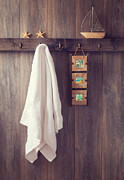 Bathroom Wall Print by Christopher and Amanda Elwell
