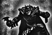 Batman - The Dark Knight Print by Lee Dos Santos