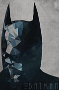 Masked Crusader Prints - Batman Print by Daniel Hapi