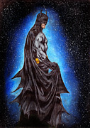 Scott Parker Metal Prints - Batman Dark Knight 3 Metal Print by Scott Parker