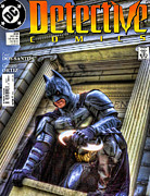 League Photo Metal Prints - Batman - Dark Knight Comic Book Metal Print by Lee Dos Santos