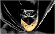 Caped Crusader Prints - Batman Print by Glenn Cotler