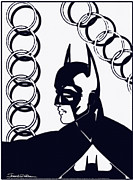 Dc Comics Drawings - Batman by Jerrett Dornbusch