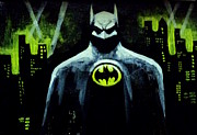 Batman Print by Salman Ravish