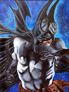 Scott Parker Metal Prints - Batman Metal Print by Scott Parker