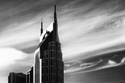 Jeff Holbrook Art - Batman Towers in Nashville by Jeff Holbrook
