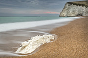 Weymouth Bay Posters - Bats Head at Durdle Door Poster by Chris Frost