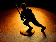 Silhouette Digital Art - Batter Batter by Camille Lopez