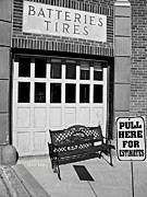 Repair Framed Prints - Batteries Tires  Framed Print by Chris Berry
