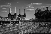 Fused Art - Battersea Power Station from Ebury Bridge II by Matthew Train