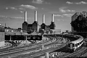 Fused Art - Battersea Power Station from Ebury Bridge by Matthew Train