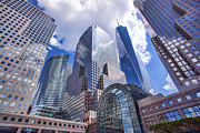 Freedom Tower Prints - Battery Park City Print by June Marie Sobrito