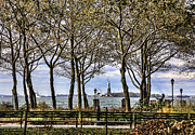Chuck Kuhn Prints - Battery Park I Print by Chuck Kuhn