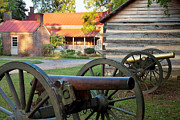 Carter House Photos - Battle of Franklin by Brian Jannsen