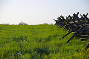 War Art - Battlefield Fence Gettysburg by Bill Cannon