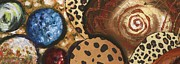 Leopard Pastels - Baubles and Beads by Alga Washington