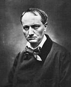 Charles Baudelaire Prints - Baudelairecharles 1821-1867. French Print by Everett