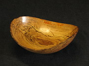 Wooden Bowls Sculptures - Bay Bottom by Stephen Griffin