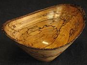 Wooden Bowls Sculptures - Bay Bowl by Stephen Griffin