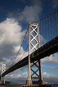 High Resolution Prints - Bay Bridge after the Storm Print by John Daly