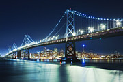 Oakland Photo Originals - Bay Bridge by Arnau Dubois