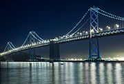 Bay Bridge Art - Bay Bridge by Matthew Bamberg