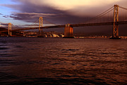Bridge Prints Prints - Bay Bridge - San Francisco Print by Aidan Moran