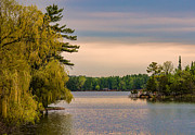 Charming Cottage Prints - Bay Lake Print by Paul Freidlund