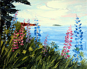 Laura Tasheiko - Bay Lupine Flowers 2013