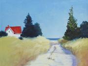 Bay Road II Print by Sheila Psaledas