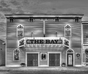 Sutton Prints - Bay Theatre in Suttons Bay Print by Twenty Two North Photography