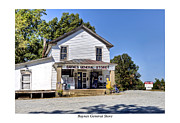 Historic Country Store Posters - Baynes General Store Poster by Terry Spencer