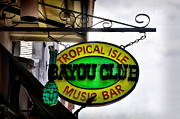 Bayou Digital Art - Bayou Club - New Orleans by Bill Cannon