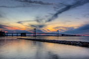 Manhattan Photos - Bayside Sunset by David Hahn