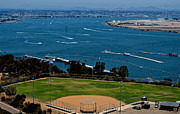 Baseball Parks Framed Prints - Bayview Park Framed Print by Craig Carter