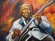 B.b King- 2 Print by Emery Franklin