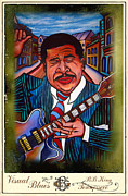 Beale Street Paintings - BB King Beale Street Blues Boy by Gray
