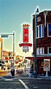 Brunch Prints - BB King Club Print by Donna Van Vlack