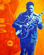 B.b.king Paintings - B.B. King by Doran Connell